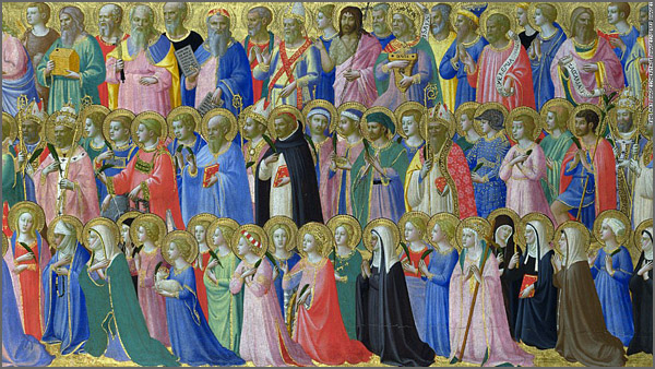 Os santos patronos