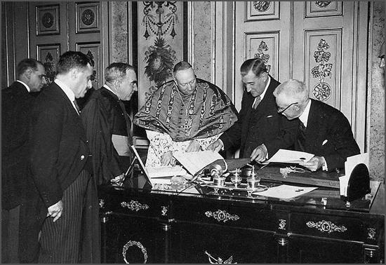 Ratificação da Concordata entre a Santa Sé e o Estado Português