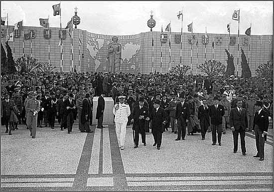Inauguração da Exposição do Mundo Português