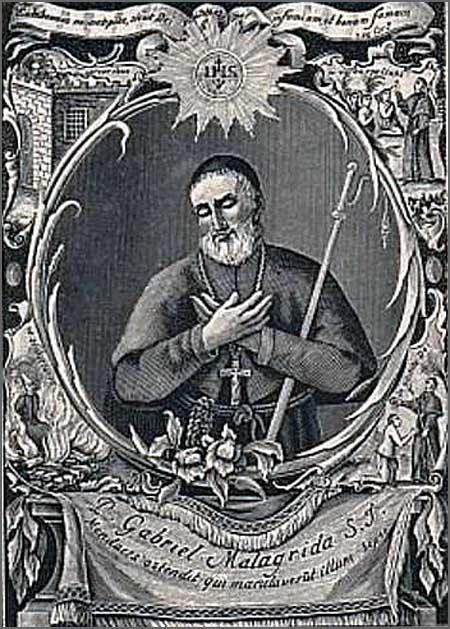 Padre Malagrida - morto nas fogueiras da Inquisição