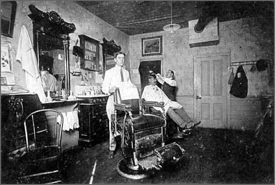 Salatra foi ao barbeiro
