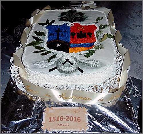 Bolo de aniversário da Santa Casa da Misericórdia do Sabugal