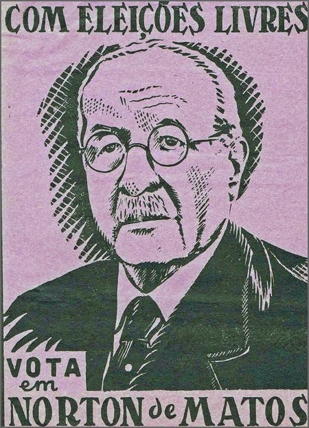 Os oposicionistas apoiaram Norton de Matos