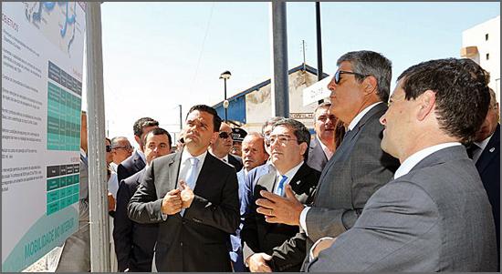 O ministro Pedro Marques na Covilhã