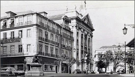 Lisboa - Igreja da Encarnação ao Chiado.