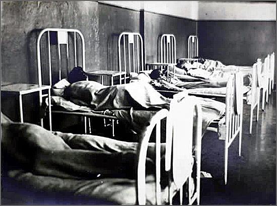 Enfermaria de hospital