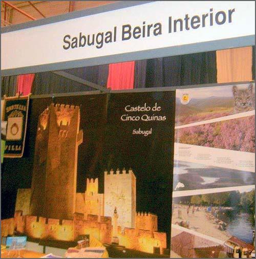 Pormenor do stand do Sabugal que alguns particulares levaram à Feira Nacional de Agricultura (em 2013)