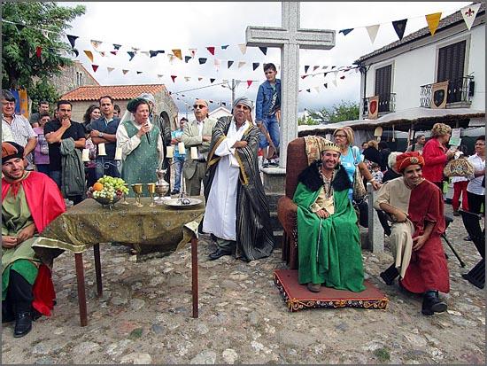 As feiras medievais repetem-se como estacas em leiras de feijões