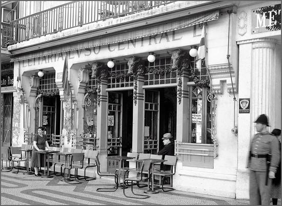 Uma antiga leitaria de Lisboa
