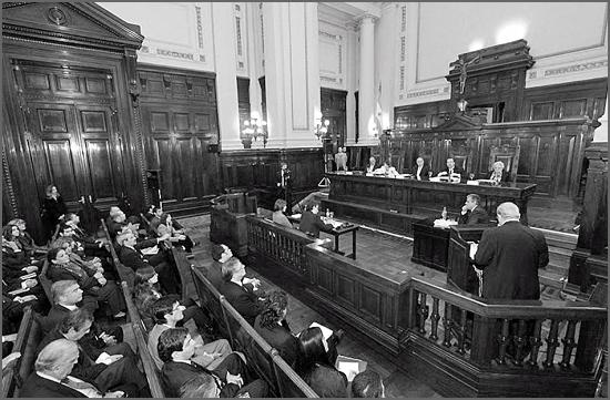 Houve julgamento no Tribunal da Boa Hora