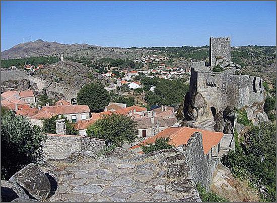 Aldeia Histórica de Sortelha no concelho do Sabugal