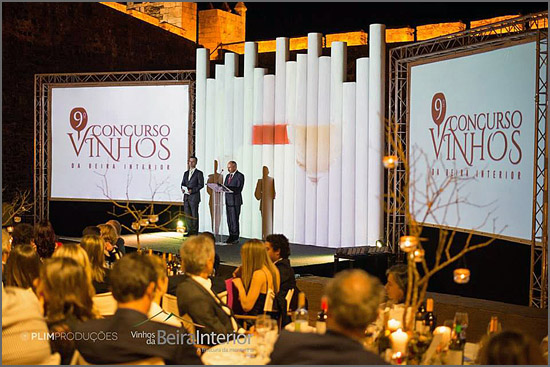 O jantar de gala do Concurso de Vinhos da Beira Interior