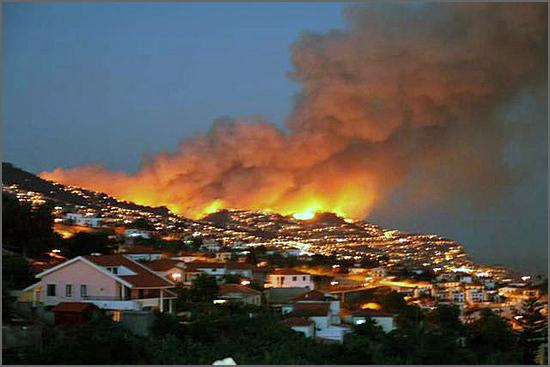 Incêndio do Funchal