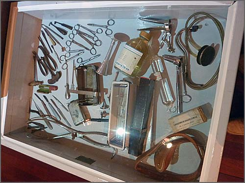 Mais instrumentos do Dr Manso