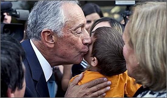 Os afectos do presidente Marcelo Rebelo de Sousa