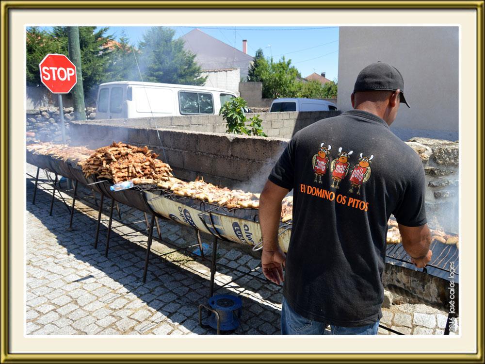 Imagem da Semana - Os pitos das Batocas na Capeia Arraiana 2016 da Lageosa da Raia - Sabugal