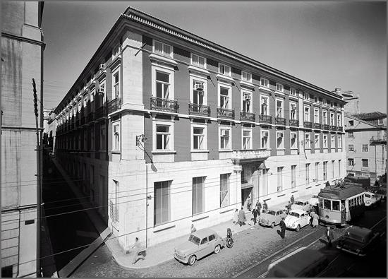 Sede da Caixa Geral de Depósitos no Largo do Calhariz em Lisboa
