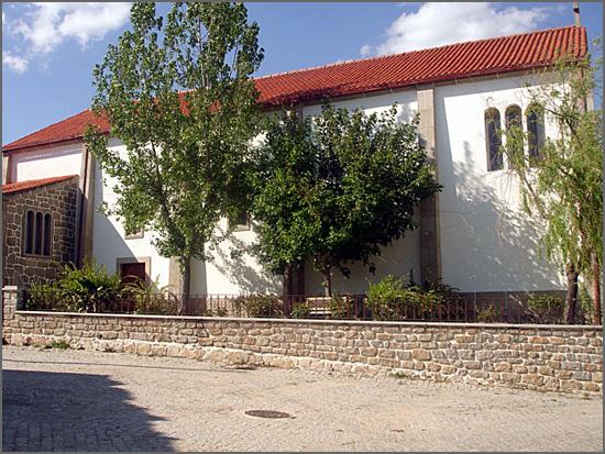 A igreja matriz da Bismula