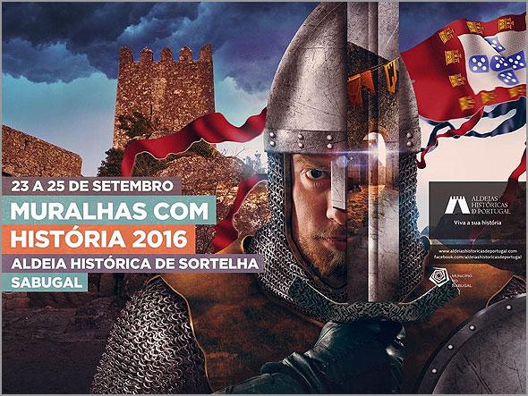 Muralhas com História -  2016 - Sortelha - Capeia Arraiana