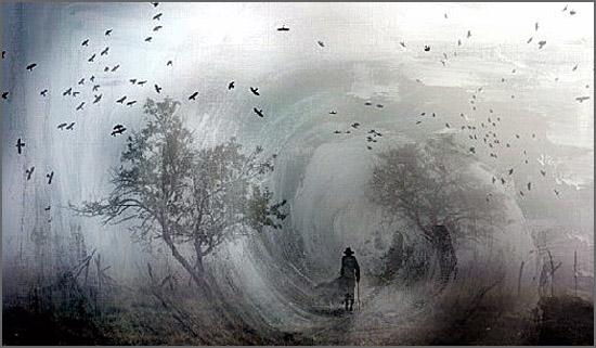 Uma imensa solidão batida pelo vento