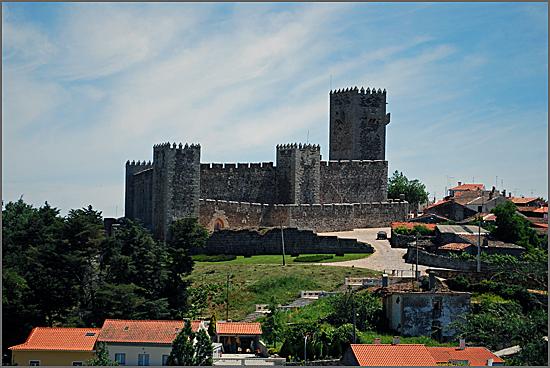 Castelo das Cinco Quinas no Sabugal