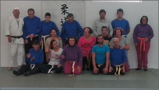 Os novos praticantes de Judo