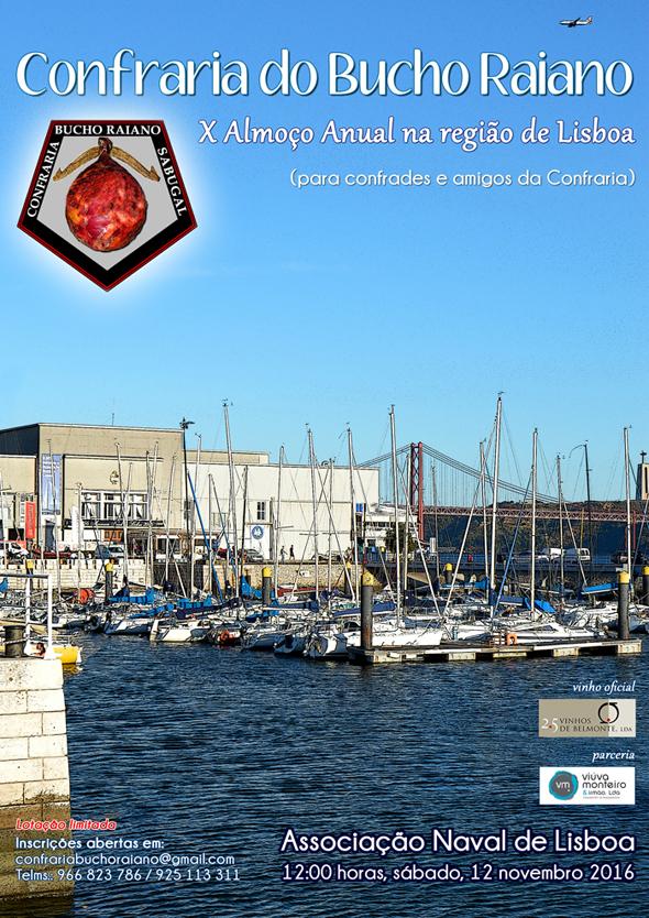 X Almoço Anual na Região da Grande Lisboa da Confraria Bucho Raiano