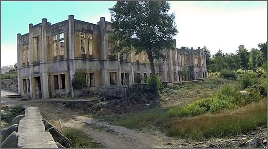 O antigo balneário das Termas do Cró