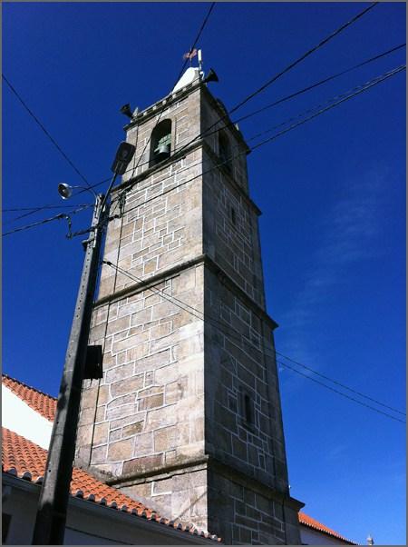 Casteleiro - torre da igreja