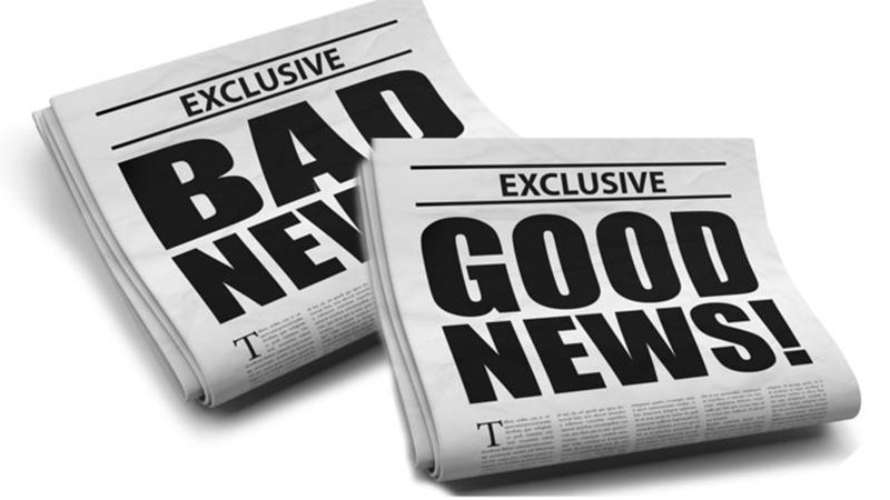 Bad News... Good News - Más Notícias... Boas Notícias - capeiaarraiana.pt