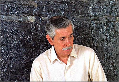 O pintor Luís Demée
