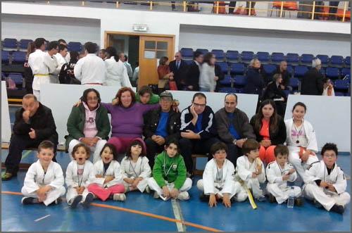 Judocas em Castelo Branco