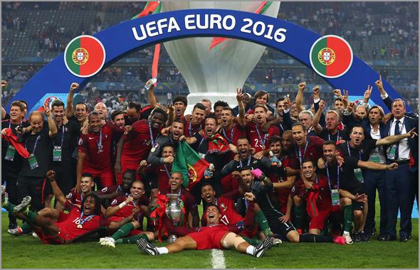 Portugal - Campeão Euro-2016 - Acontecimento Ano no Capeia Arraiana