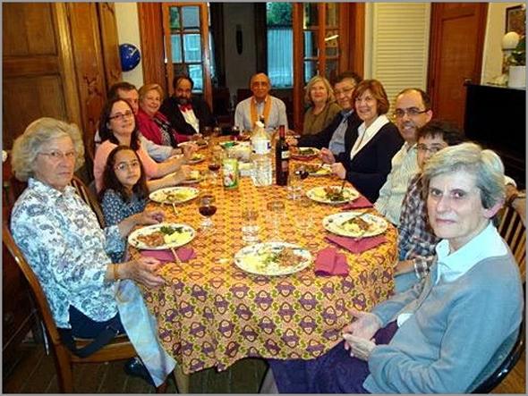 Jantar de Bucho Raiano em Bruxelas - Joaquim Tenreira Martins - Pina Monteiro - Capeia Arraiana
