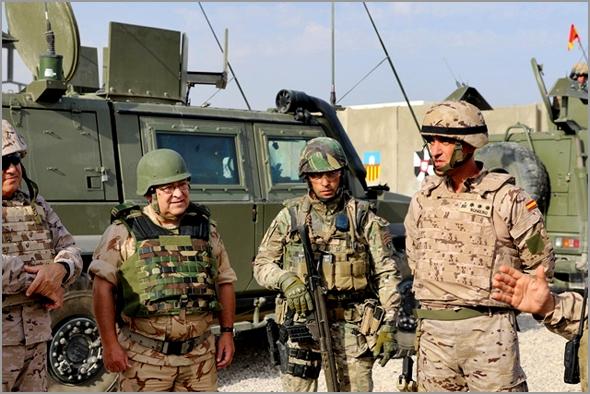 General Pina Monteiro visita o contingente militar português em Besmaya no Iraque - Personalidade do Ano 2016 - Capeia Arraiana