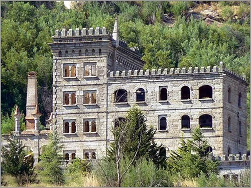 O antigo hotel da Serra da Pena