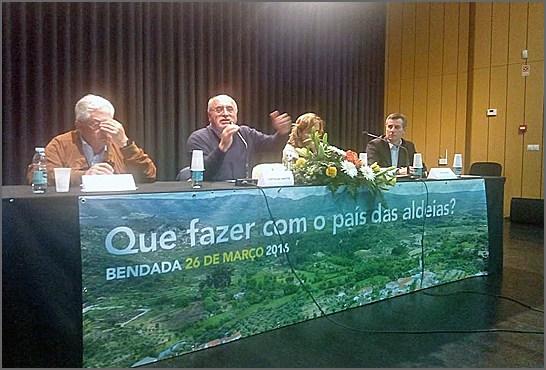 Em Março a Bendada discutiu o futuro das aldeias do interior