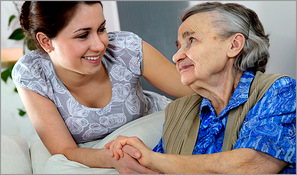 Cuidadores formais dos idosos dependentes