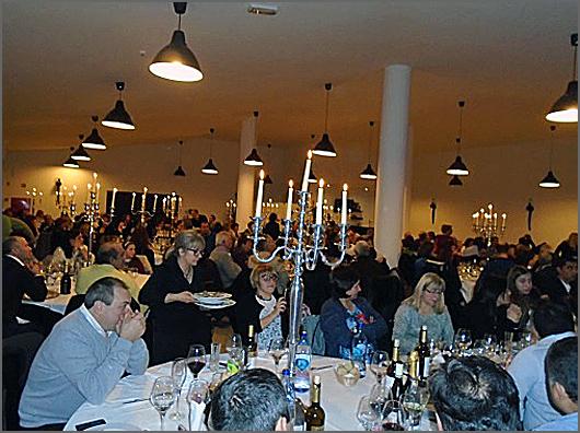Casa cheia na festa da passagem de ano no Casteleiro