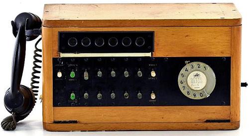 Aparelho de PBX - As antigas centrais telefónicas