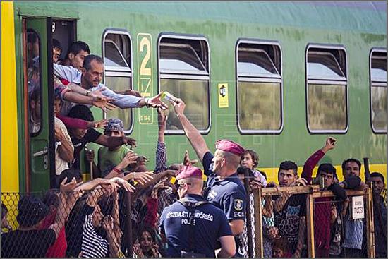 Refugiados na Hungria