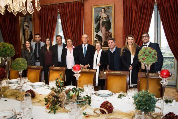 Almoço Presidente Marcelo Rebelo Sousa - Nave - Capeia Arraiana
