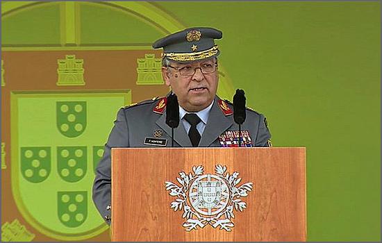 General Pina Monteiro vai ser reconduzido como CEMGFA