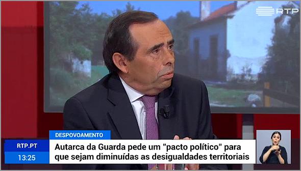 Álvaro Amaro na RTP - Capeia Arraiana