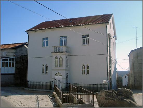 A casa da família Dinis da Fonseca no Rochoso