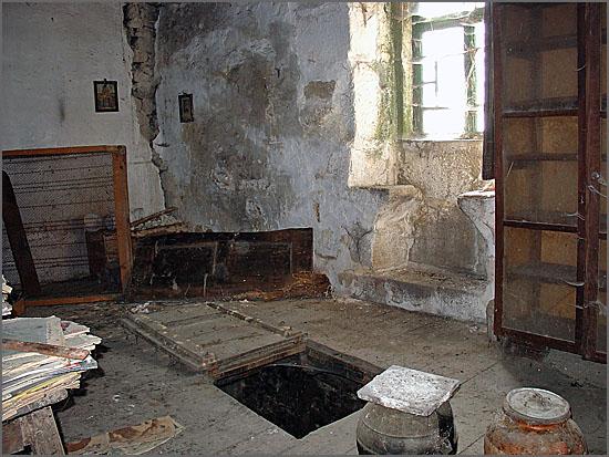 Casa com alçapão
