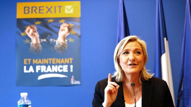Marine Le Pen é candidata a presidente da República Francesa - capeiaarraiana.pt