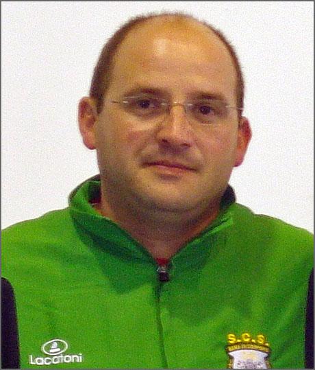 David Carreira - treinador de judo do Sporting Clube do Sabugal