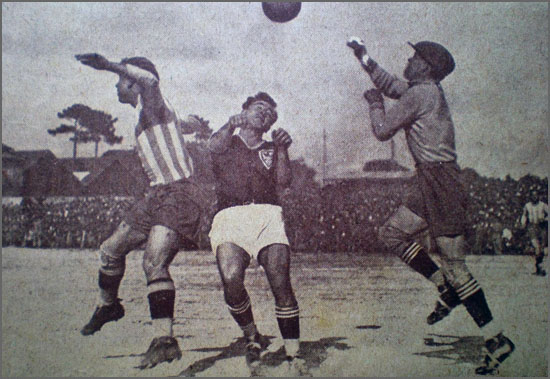 A vivacidade do futebol em 1928