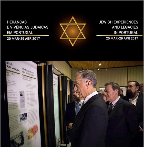 Exposição sobre os Judeus foi visitada pelo Presidente da República, Marcelo Rebelo de Sousa